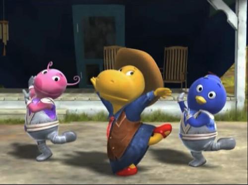Singing Dancing Cowboys and Aliens