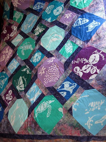 Androsia quilt