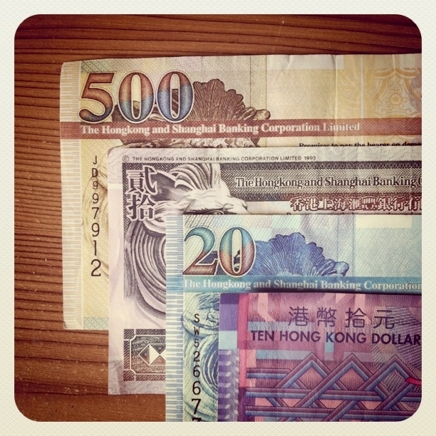 hk dollars