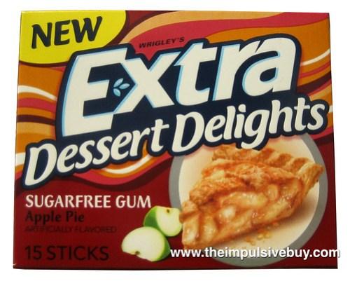 Extra Dessert Delights Apple Pie Gum