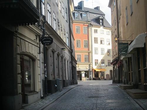 Gamla Stan, casco viejo. Estocolmo