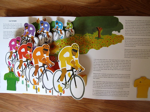 Tour de France Pop Up Book