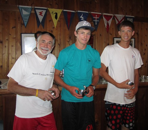 Ware River Governor's Cup Laser Winners