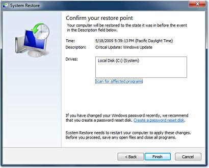 Stop Malware Coming Back