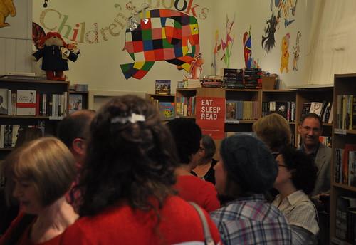 Bloodstone launch at the Edinburgh Bookshop
