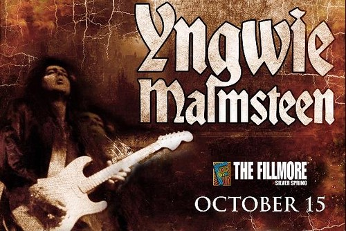 Yngwie at the Fillmore Silver Spring