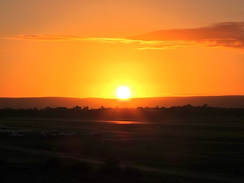 Jandakot Airport at Sunrise