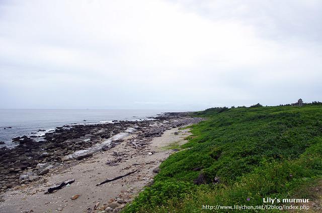 美麗的伽路蘭海岸區,有一個小小的自然高台可以眺望美麗的太平洋以及遠處的海灣。