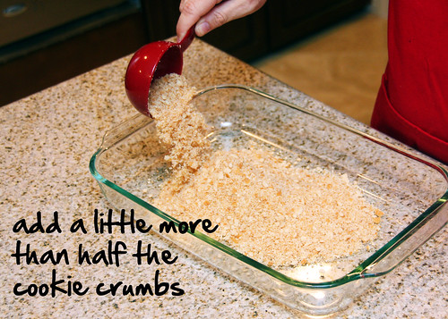 add cookie crumbs