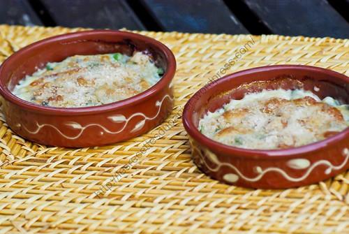 Gratin de céleri-branche au Gorgonzola / Celery and Gorgonzola Au Gratin