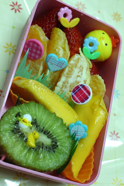 Rainbow Fruit Bento