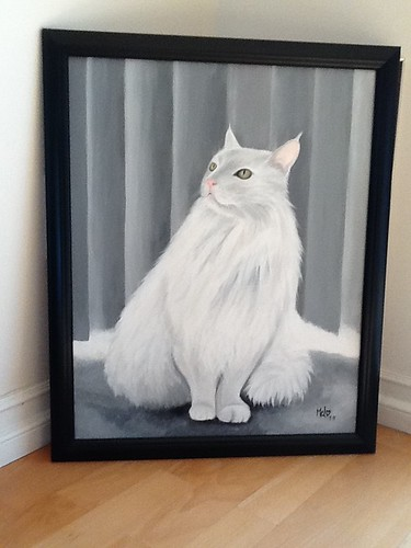 My Kitty Painting