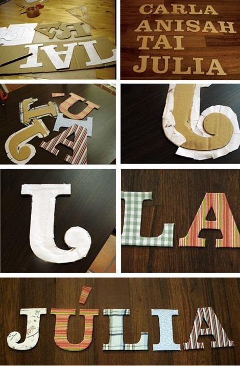 letras forradas