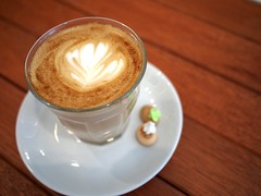 Latte, The Orange Thimble, Eng Hoon Street, Tiong Bahru