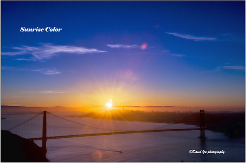 Sunrise Color by davidyuweb
