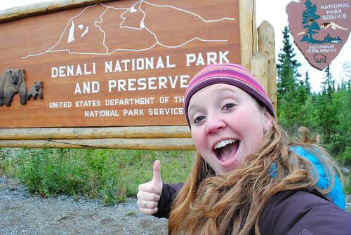 Hey Look, I'm at Denali National Park