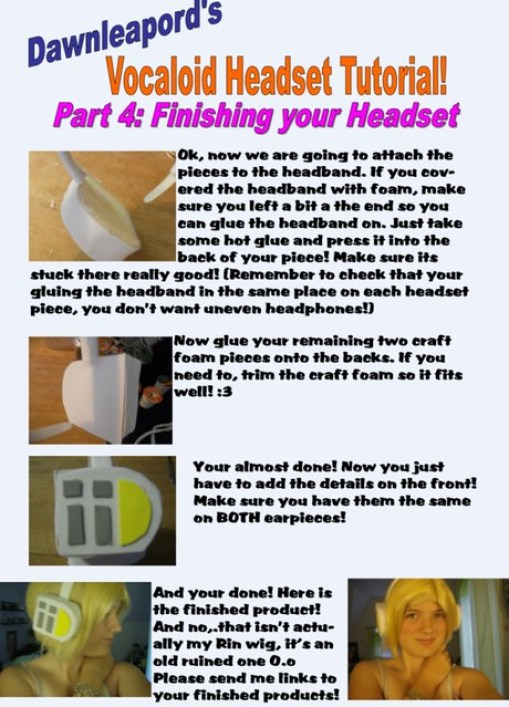 How to Make Vocaloid Headset4