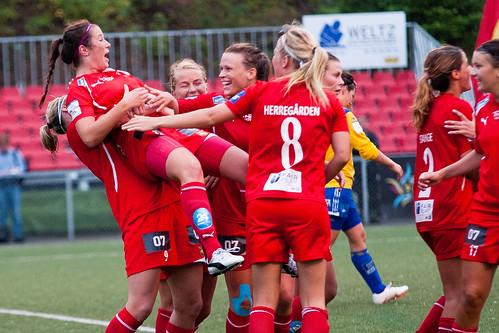 Andrea Frøshaug satte inn 2-1.