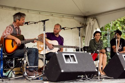 My Home Town with Steve Poltz and The Rural Alberta Advantage @ Ottawa Folk Festival 2011