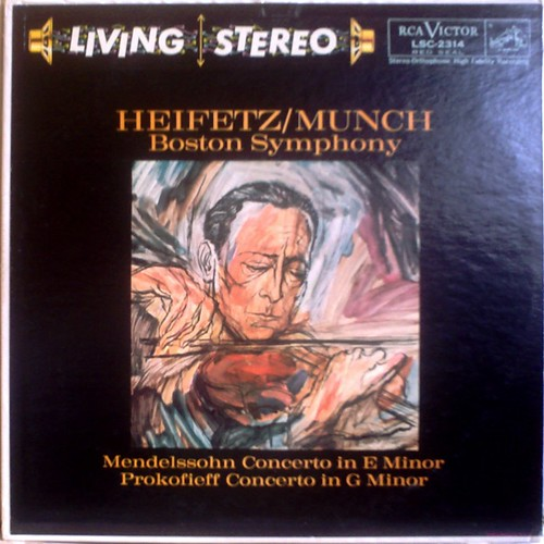 US RCA LSC-2314 HEIFETZ - MENDELSSOHN : Violin Concerto
