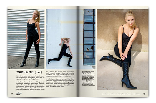 Urban Noir Magazine, Issue 1 - Pgs. 17 & 18