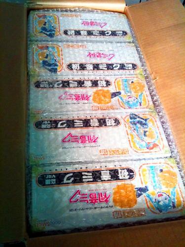 Boxes of Nendoroid Hatsune Miku: Support version