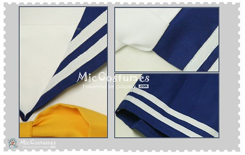 Lucky Star Summer Uniform Cosplay Costume