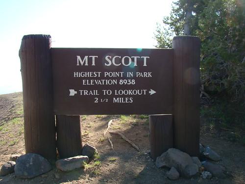 Hiking Mt. Scott