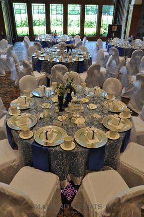 Wedding reception at the Virginia Tech German Club