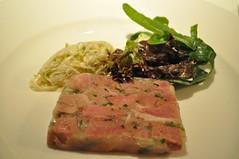 Starter: Pressé de porc, rémoulade de celeri