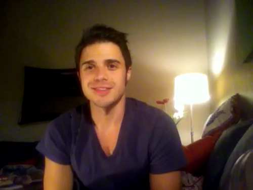 Kris Allen sophomore album update screen capture picture 32