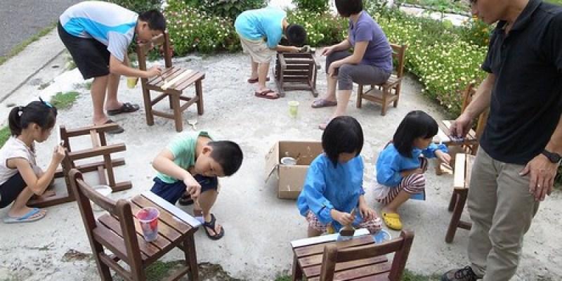 彩繪小學椅子(7 ys)