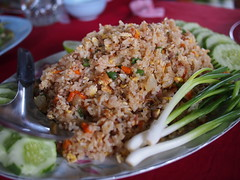 Fried Rice, Vangmekong, Vientiane