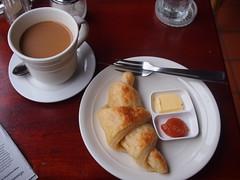 Bottomless Coffee, Croissant with Homemade Papaya Mango Pineapple Jam, Arthouse Cafe, Luang Prabang