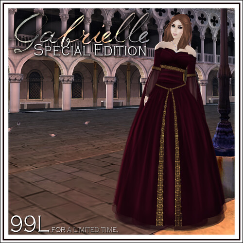 Gabrielle Special Edition Ad