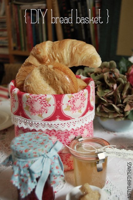 {DIY bread basket}