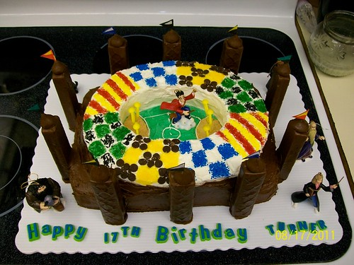 Quidditch Birthday Cake