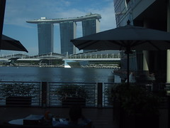 Afternoon View from Landing Point, Fullerton Bay Hotel
