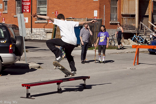 Glebe Streets 2011: Skateboarding