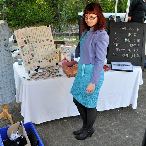 What I Wore ~ To Market ~ Plus some upcoming Vintette designs!