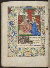Book of Hours, f.80v, (184 x 133 mm), 15th cen...