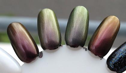 Nubar duochrome polishes (4)
