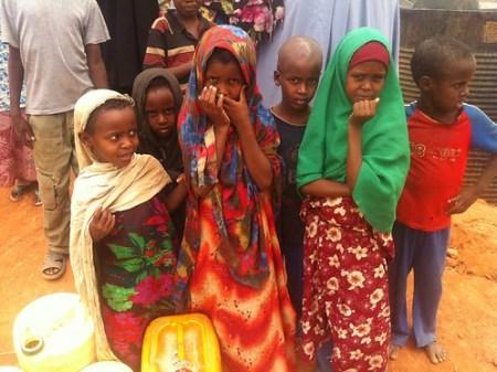 Niños en Refugio Dadaab Kenia