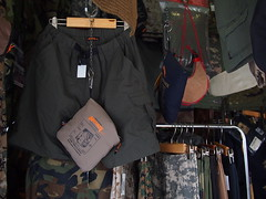 Army supplies stall, Chatuchak Weekend Market