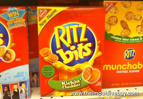 Ritz Bitz Kickin' Cheddar on Shelf