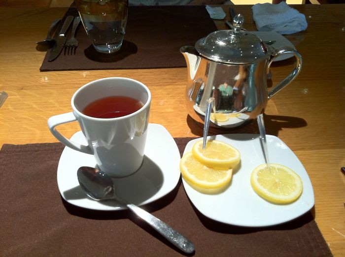 lemon tea shangri la