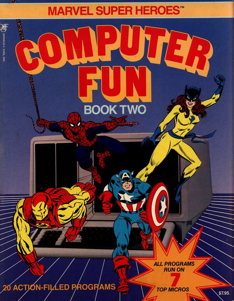 Marvel Computer Fun cover
