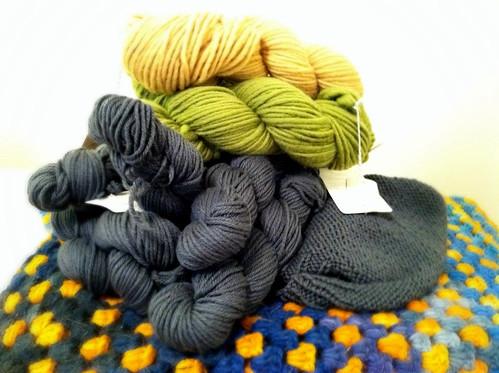 Secret knitting!