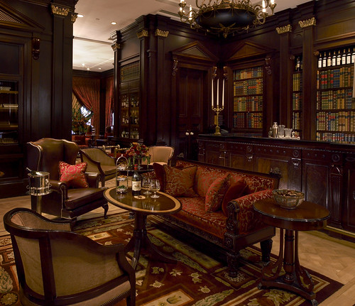 The Library Bar At The Lanesborough Hotel Knightsbridge