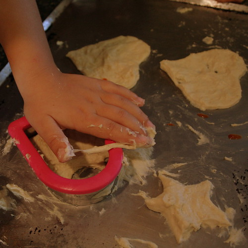 Pizza Making Hands